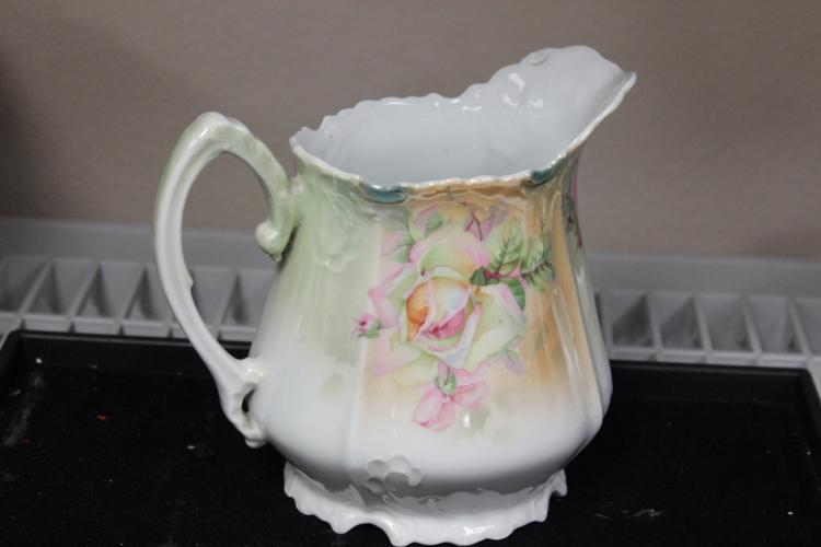 A Silesia, Germany Luster Porcelain Pitcher