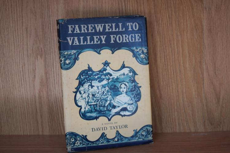 Book - Farewell To Valley Forge by David Taylor
