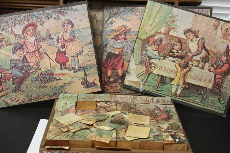 A Victorian? Puzzle Blocks