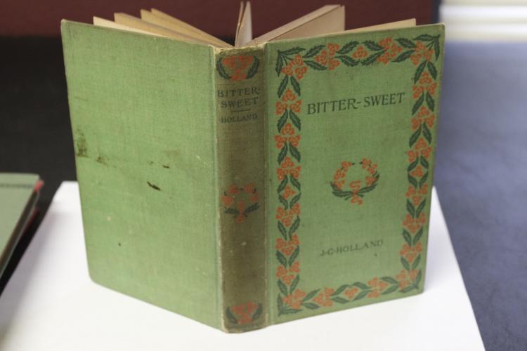 Book - Bitter-Sweet by J.G. Holland