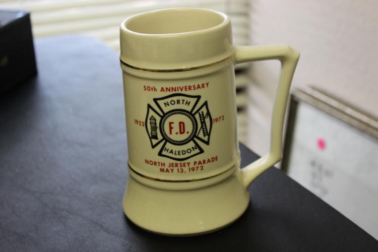 A North Haledon 50th Anniversary Fire Department Stein / Mug