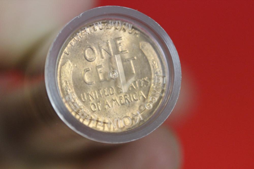 1958 D Wheat Pennies