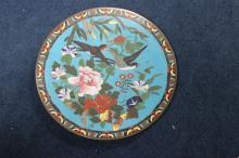 Antique Japanese Cloisonne Platter