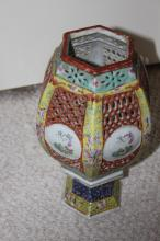 Antique Chinese 19th Century Porcelain Lantern