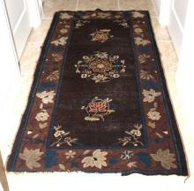 Antique Chinese Peking Rug from 1920's