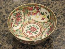 Antique Rose Medallion Bowl