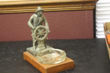 A Nautical Art Ashtray