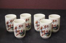 Set of 6 Saki Cups