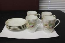 Set of 8 Germany Cup and Saucer