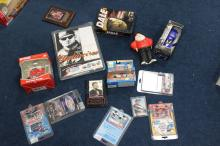Lot of Dale Earnhardt and Jr Collectables