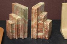 Set of Two Stone Book Ends