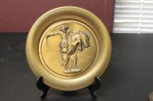 A Roger Brown Bronze Plate on Frederick Remington