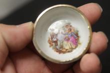 A Limoge Miniature Bowl