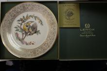 A Lenox Collector's Plate