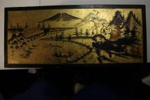 A Japanese Music Jewelry Box with Dancing Lady