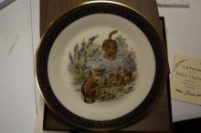 A Lenox Collector's Plate - Eastern Chipmunks