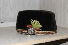 A Velvet Hat With Belt - Most Likely from the Victorian Era