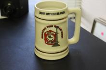 A Fire Department Stein of Beer Mug