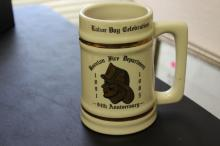 A Fire Department Stein or Beer Mug