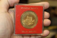 A Commemorative Bronze Coin of Windsor Castle