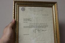 A J.Edgar Hoover FBI Director Autograph