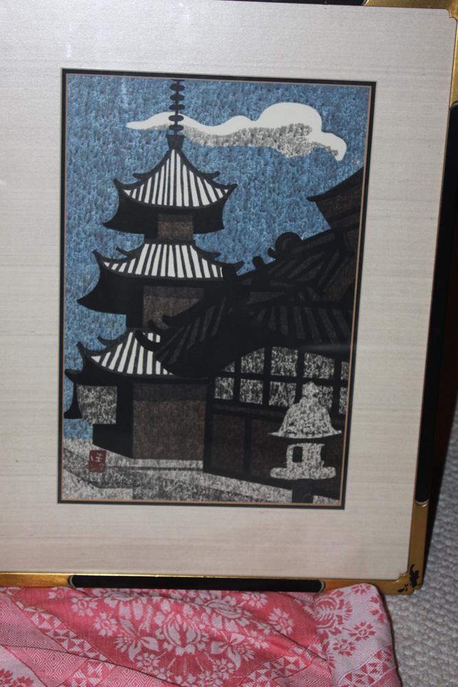 Kiyoshi Saito Woodblock Print