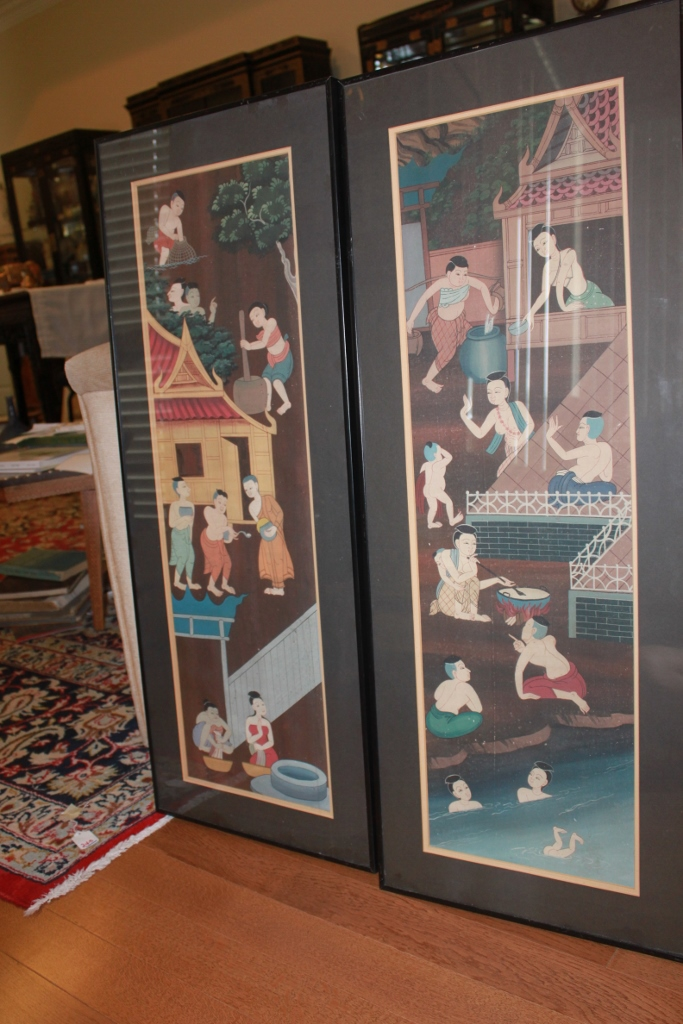Pair of Asian Paintings