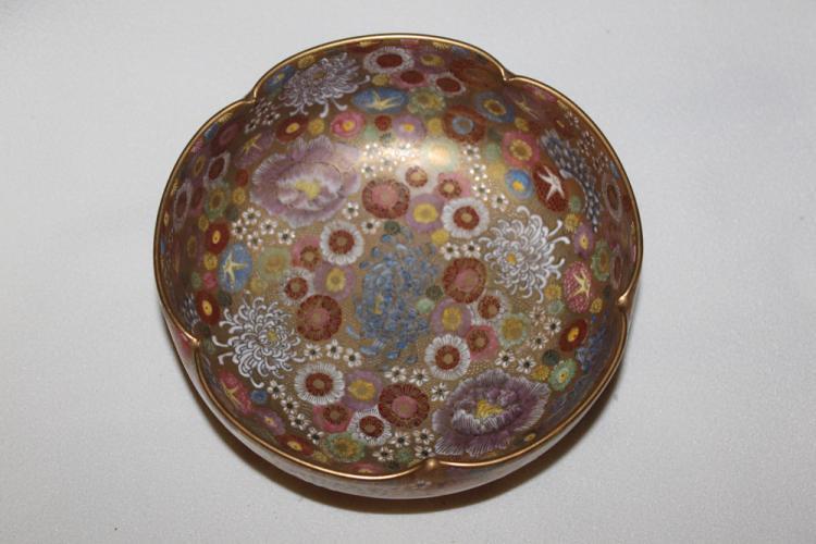 Early 20th C Japanese Satsuma Bowl