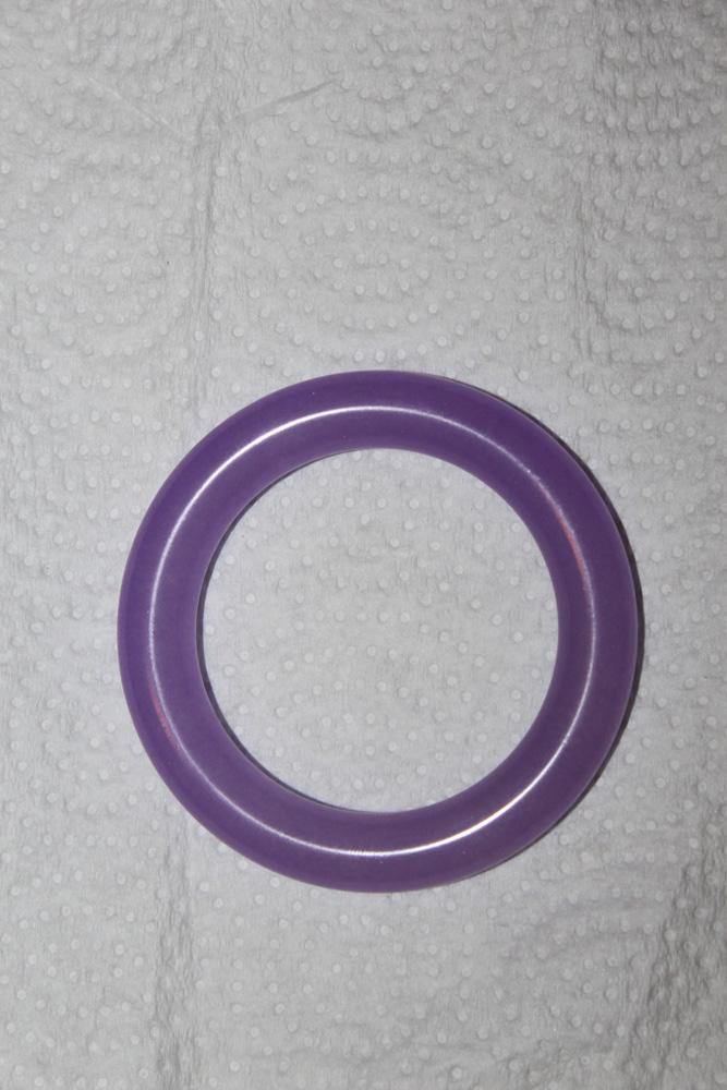 Lavender Jade Bangle Bracelet