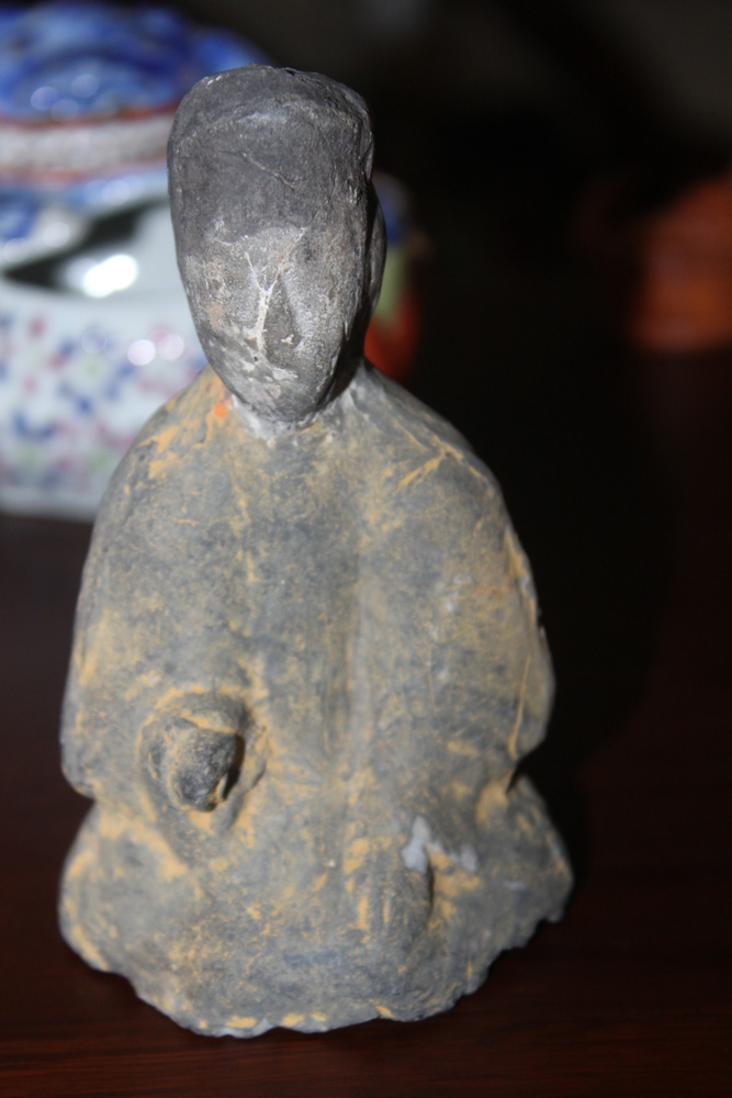 Antique Chinese Terracotta Figure