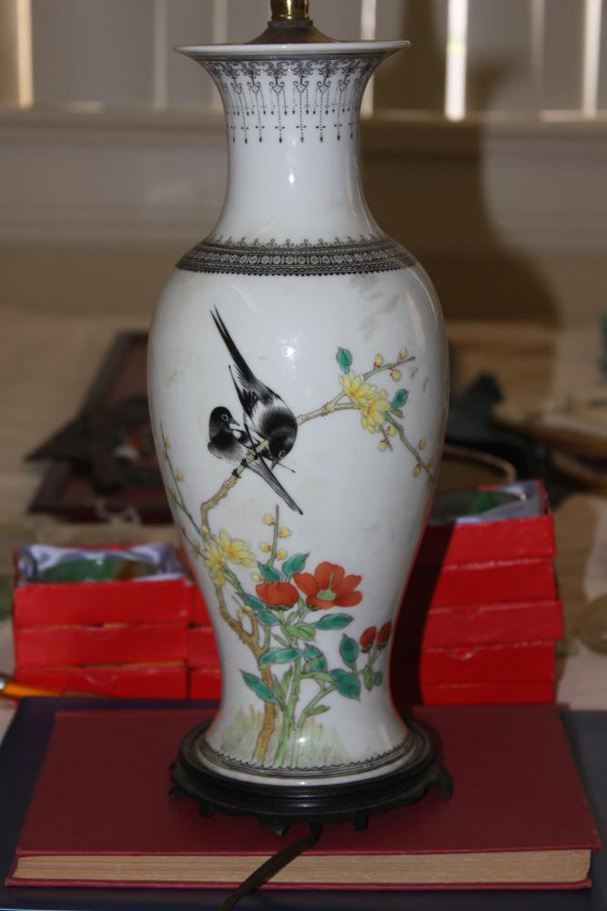 Antique / Vintage Chinese Famille Rose Vase
