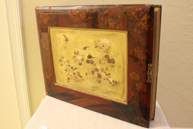 Antique Japanese Shiba Yama Photo Album w/ Provenance