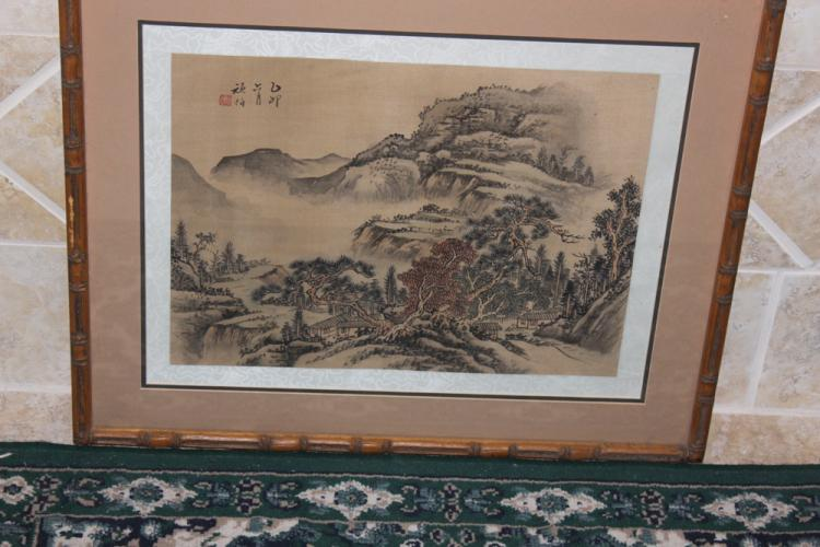 Antique / Vintage Chinese Watercolor