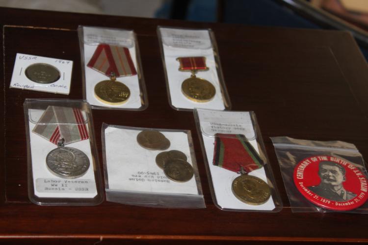 Lot of Soviet Union Trinkets