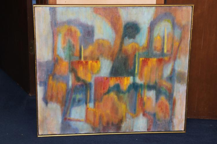 Anna Bacchi Mid Century Painting