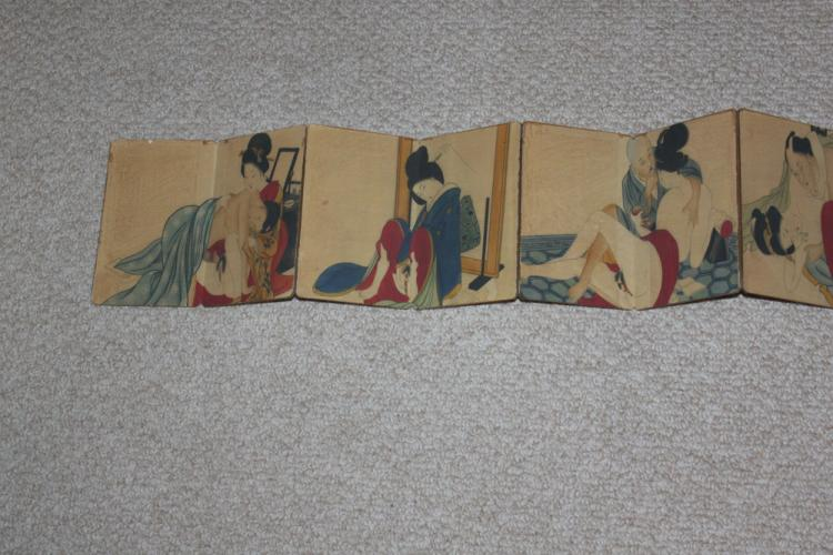 Chinese / Japanese / Asian Book of Erotica