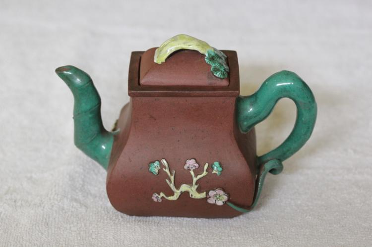 Antique Chinese Yixing Pottery Teapot