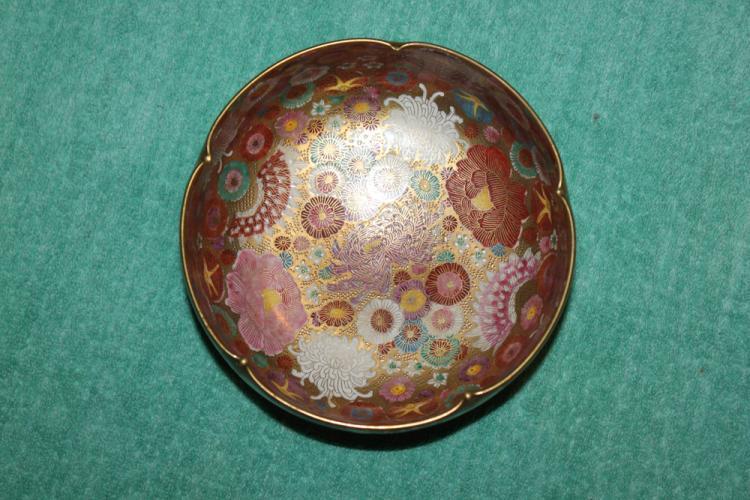 Antique Japanese Satsuma Bowl