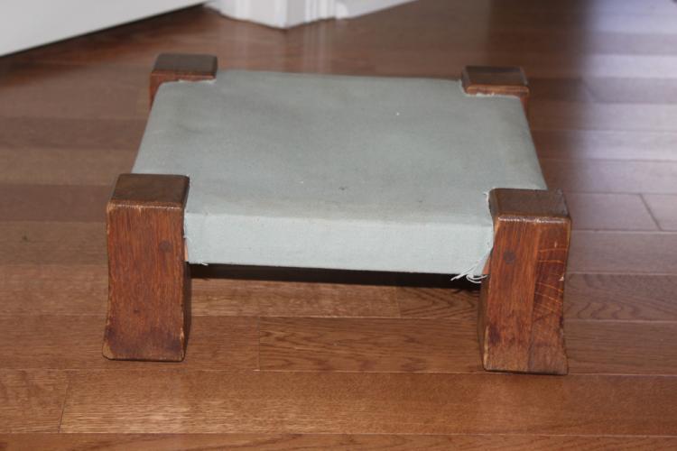 Antique American Gustav Stickley Monk Stool