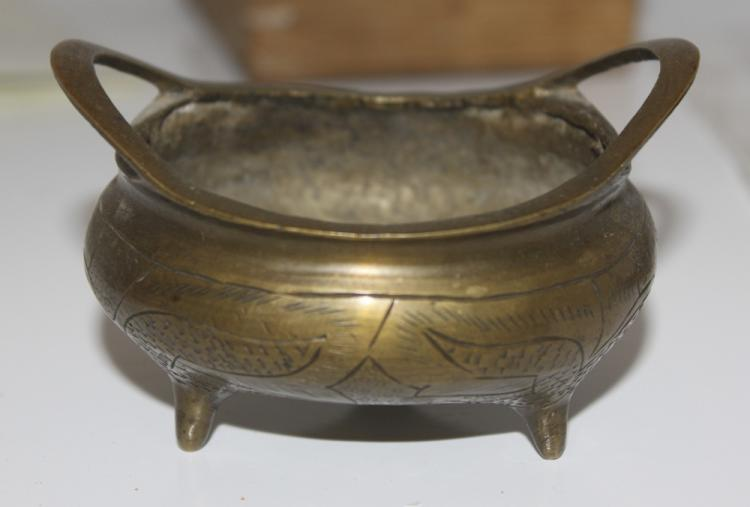 Antique Chinese Bronze / Brass Censor