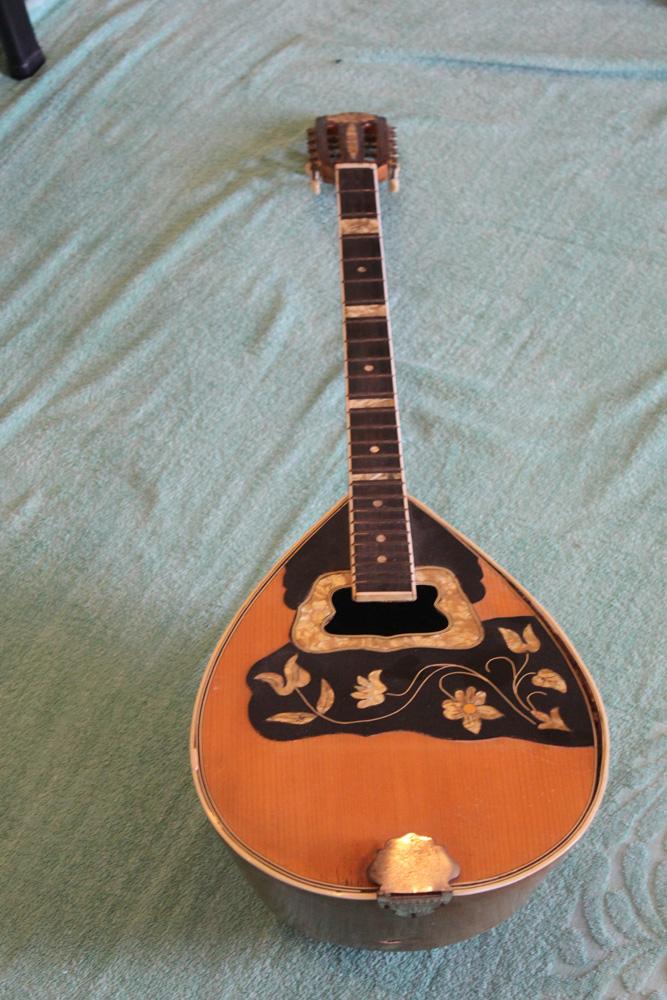 Antique Asian Mandolin