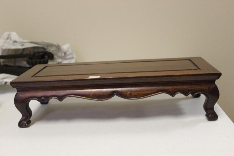 Carved Rosewood Stand