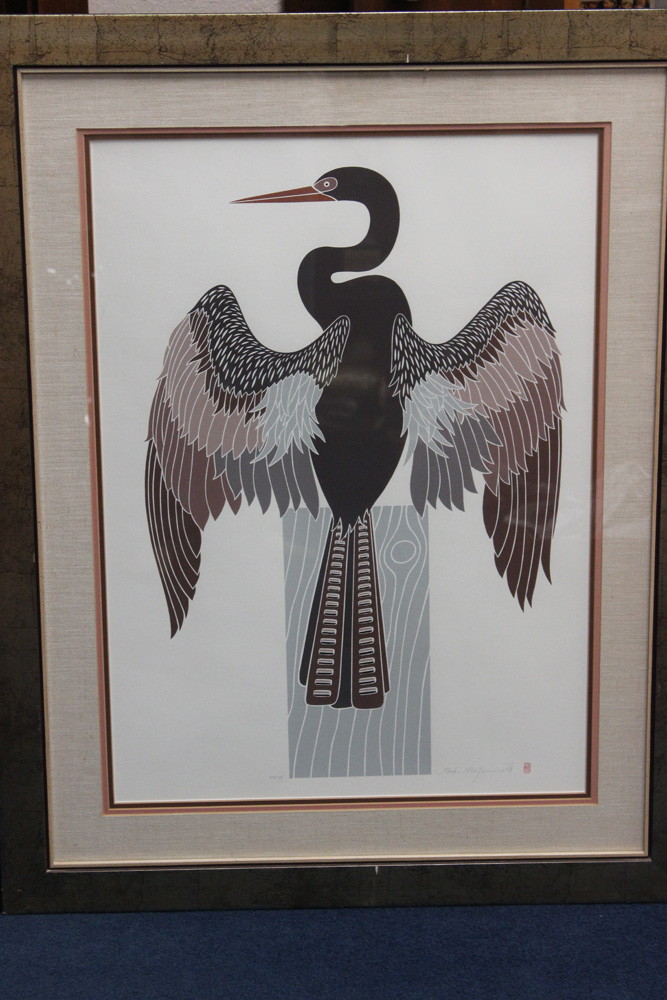 Japanese Lithograph by Ikki Matsumoto