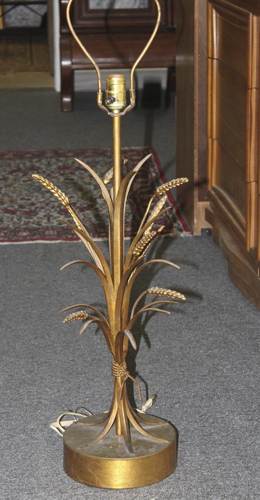 Retro Wheat Lamp