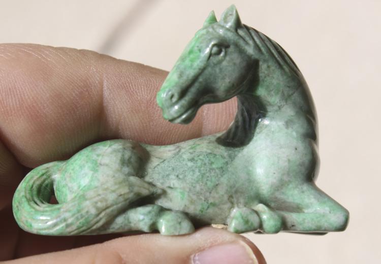 Jadeite Horse
