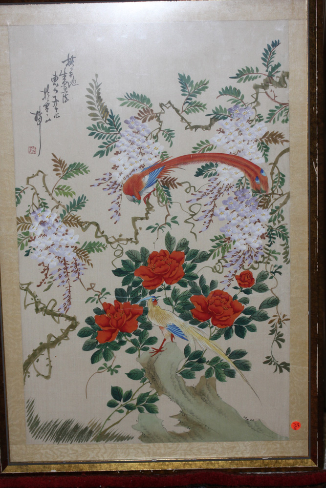 Antique / Vintage Chinese Pastel on Silk