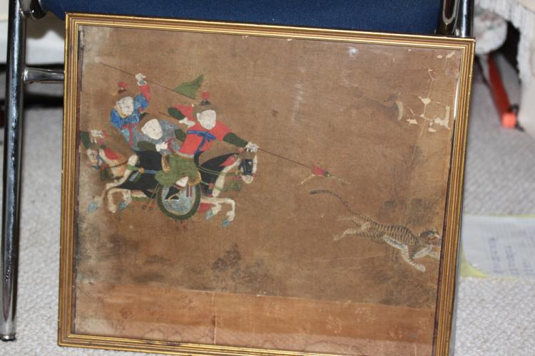 Antique Chinese 17th / 18th Century Painting on Paper
