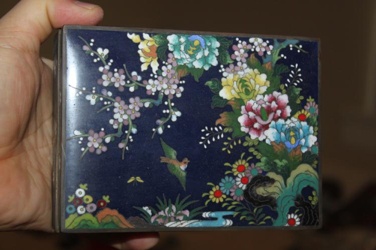 Japanese / Chinese Cloisonne Box