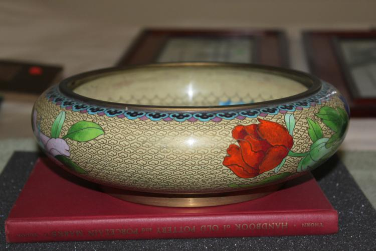 20th Century Chinese Large Cloisonne Bowl