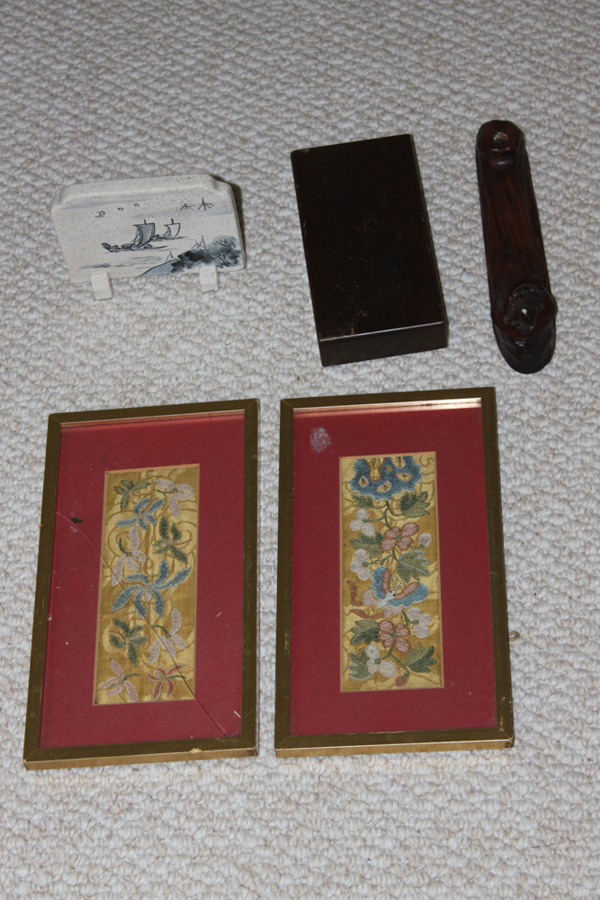 Antique / Vintage Lot of 5 Asian / Chinese Articles